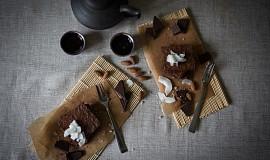 Bezlepkové brownies s kokosem