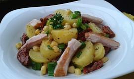 Bramborový salát s kuřecím masem