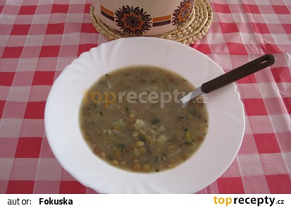 Čočková polévka s paprikou
