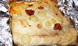 Kapr v alobalu s bramborami