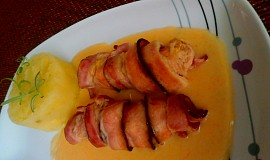 Králičí hřbety ve slanině