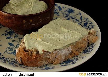Pomazánka z brokolicových košťálů