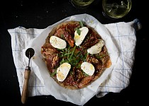 Pizza z pohankové mouky