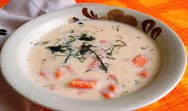 """Polévka s batáty (sladké brambory) á la """"kyselačka"""""""