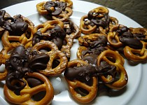 Slané čokoládové preclíky