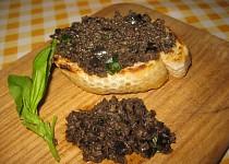 Tapenáda z černých oliv