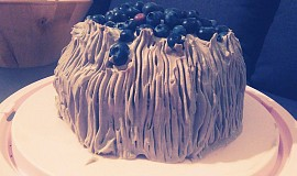 Trochu netradiční dort s karobem a rýžovou moukou