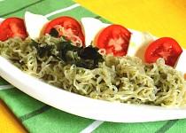 Zeleninové těstoviny Caprese