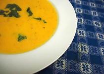 Karotková polévka se smetanou a kari