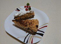 Kuskusový dezert se šmakounem a brusinkami