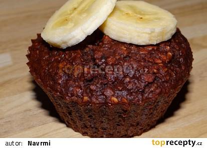 Ovesné muffiny s banánem