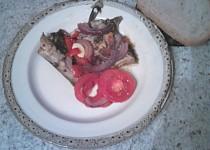 Pečená makrela se zeleninou
