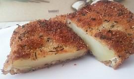Pečené brambory v bylinkové krustě