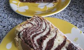 Pruhovaný dortík