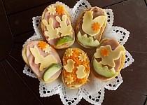 Velikonoční chlebíčky