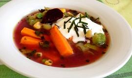 Zeleninová polévka s batáty