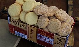 Jednoduché máslové sušenky