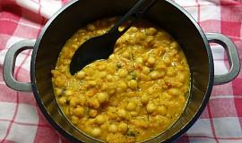 Chana masala (cizrna po indicku)