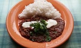 Dal Makhani (indické národní jídlo)
