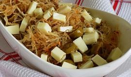 Salát z rýžových těstovin