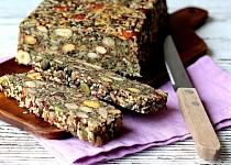Semínko-ořechový chlebíček bez mouky