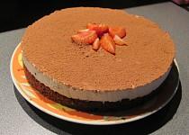 Snadný smetanový dezert s kakaovým korpusem