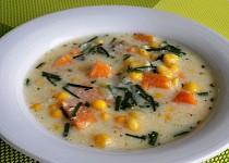 Batátovo – kukuřičná polévka