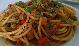 Masové směsi na špagety á la Krkovička