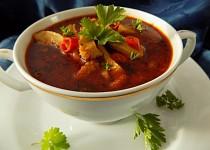 Pikantní dršťková polévka