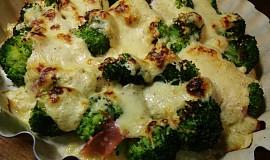 Zapečená brokolice se zakysanou smetanou