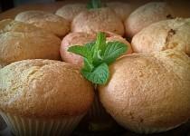 Bezlepkové kokosové mufinky s nugetou