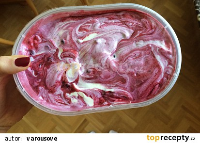 Domácí ovocná zmrzlina