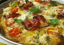 Těstovinová frittata
