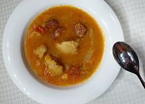 Divoká kedlubnová polévka