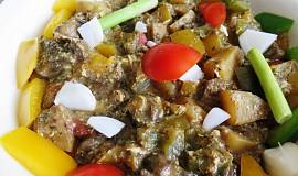 Hřib kovář  v zelenině na způsob leča