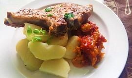 Kotleta na zelenině