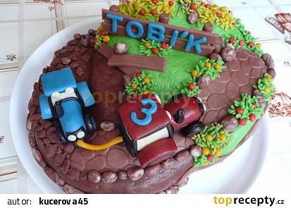 Dort s traktory pro Tobíka