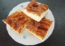 Jablkovo-skořicový koláč