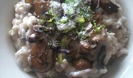 Lanýžové risoto