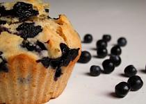 Borůvkové muffiny s medem