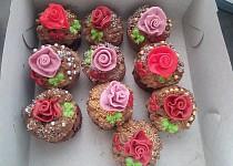 Narozeninové pařížské muffinky