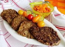 Placičky s kuřecími játry a cuketou