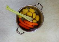 Bramborová kaše - zeleninová