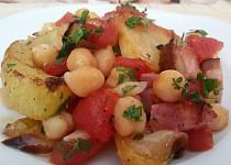 Pečená zelenina s cizrnou