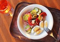 Sebraný letní salát