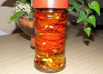 Sušená rajčata s česnekem