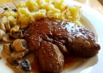 Steak podle Citlivé kuchyně
