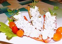 Papriky plněné Hermelínem
