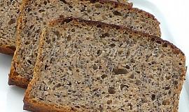 Žitný chleba se záparou a mákem
