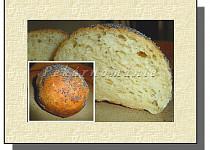 Bramborovo – sýrové bulky s mákem